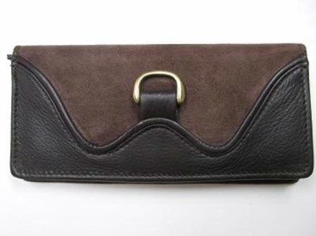 Scully Leather Clutch Front #719799