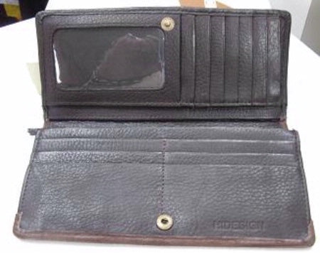 Scully Leather Clutch Interior #719799