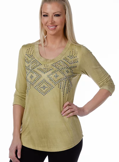 Liberty Wear Sedona Top Front #117280