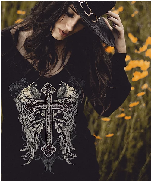 Liberty Wear Black Souls Front #117299