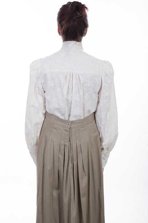 Scully Wahmaker Old West Blouse Ivory Back