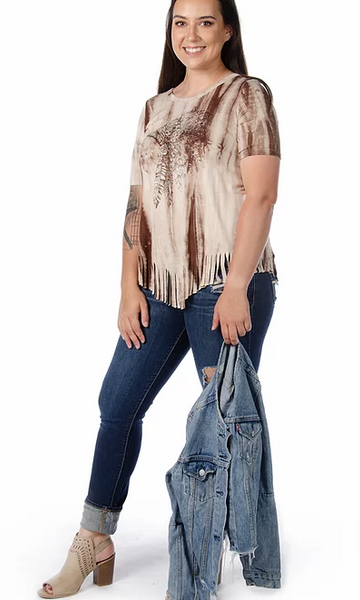Liberty Wear Brave Spirit Top Front #7865