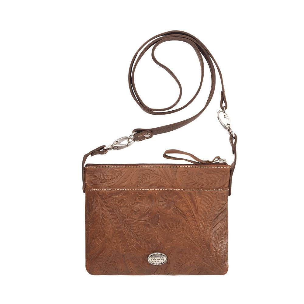 American West Handbag, Trail Rider Collection, Crossbody Back