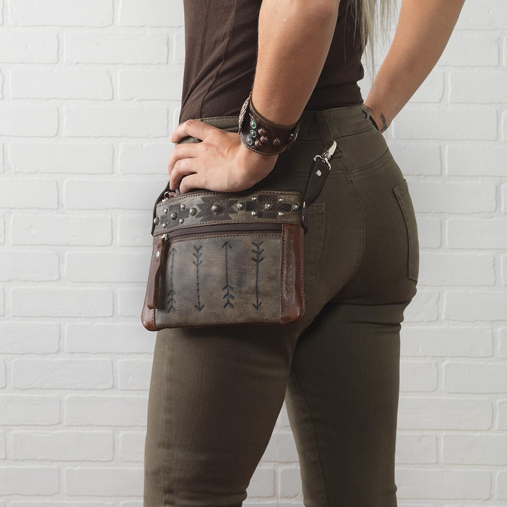 American West Handbag Trail Rider Collection, Worn on Belt Loops