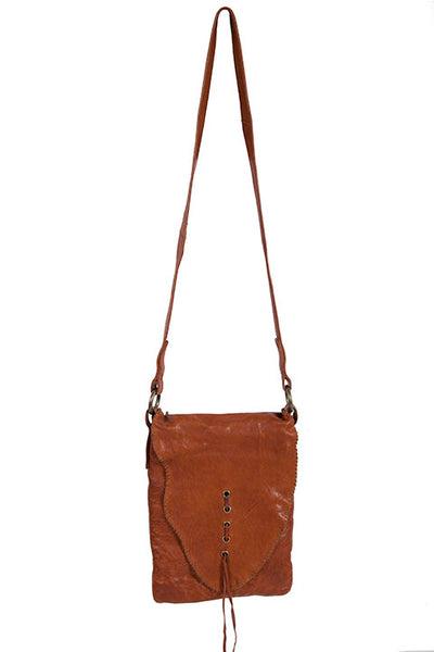 Scully Shoulder Crossbody Handbag with Natural Flap Front