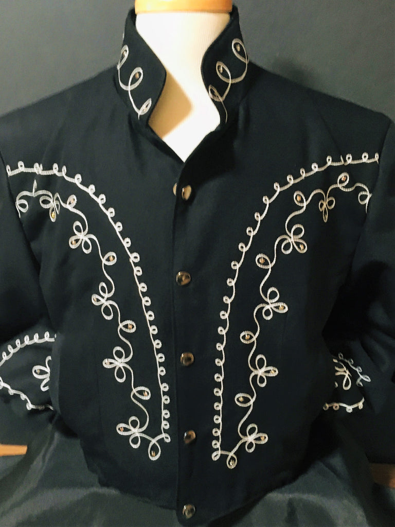 OutWest Bolero Men's Jacket with Crystals Front #100010