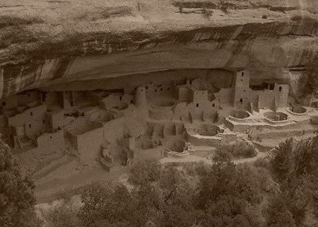 In The Lens Photography: Cliff Palace, Mesa Verde, CO, Sepia