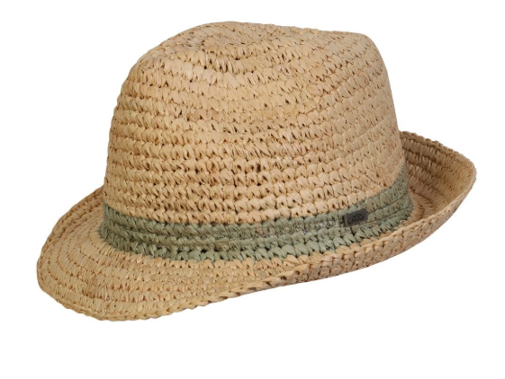 Conner Handmade Hats Fedora Madison Natural F1311