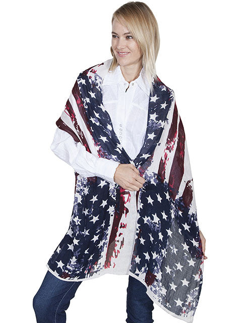 Honey Creek Collection Accessory Patriotic Wrap Front View