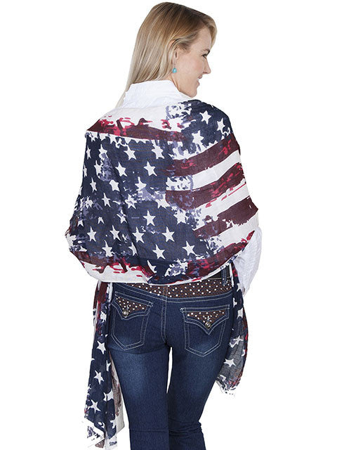 Honey Creek Collection Accessory Patriotic Wrap Back View