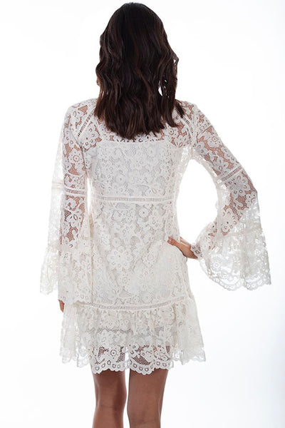 Women's Honey Creek Collection Dress: Ivory Lace