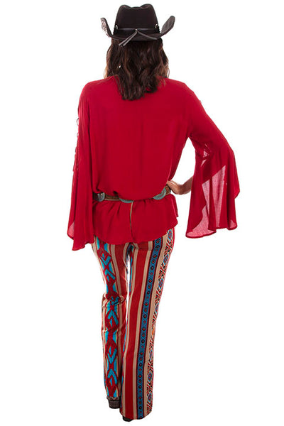 Scully Ladies' Honey Creek Pant Serape Stripe Front