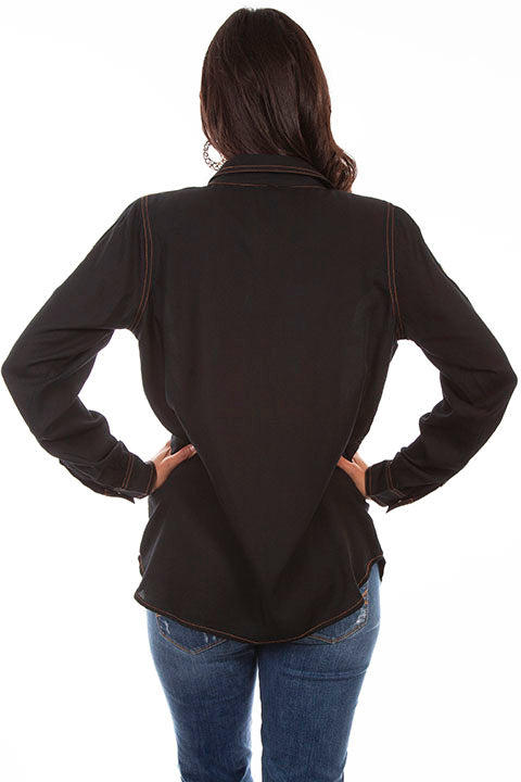 Scully Ladies' Honey Creek Shirt Jacket Back
