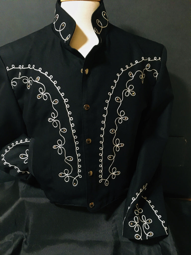 OutWest Bolero Men's Jacket Front Crystals  #100011