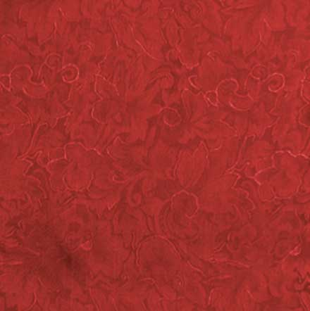 Jacquard Silk Scarf Red Square