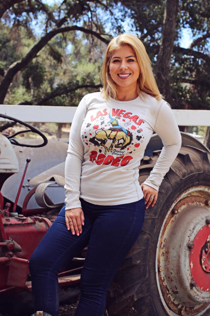 Original Cowgirl Clothing Thermal Las Vegas Rodeo Front