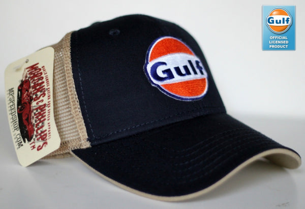 M&P Speed Shop Gulf Cap Navy/Tan