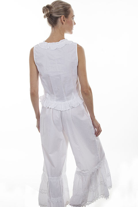 Scully Ladies Old West Rangewear Bloomers White Back