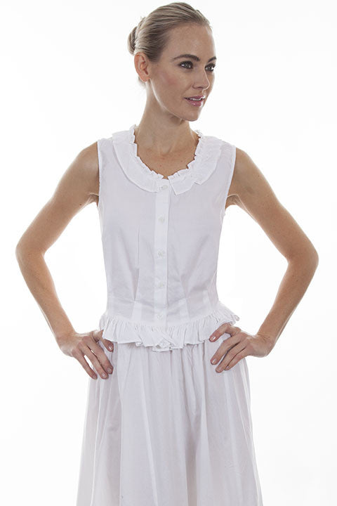 f87f236531c Old West Top Collection  Rangewear Women s Cotton Camisole - OutWest ...
