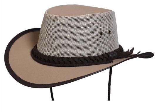 Conner Handmade Hats Aussie Canvas Hat T1008
