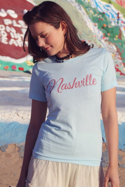 Original Cowgirl Clothing T-Shirt Nashville Short Sleeves Unisex Sizes
