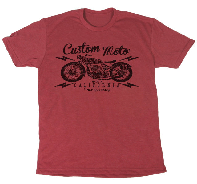 M&P Speed Shop T-Shirt Custom Moto