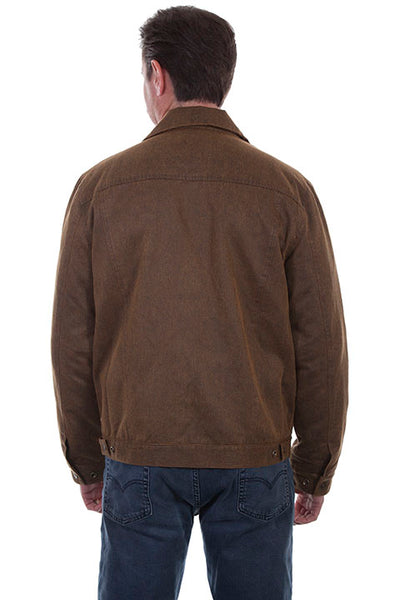 Men's Farthest Point Moleskin Jacket Front TR-092