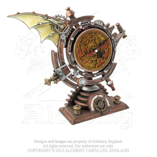 Alchemy England 1977 The Stormgrave Chronometer Clock Front