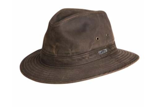Conner Handmade Hats Indy Jones Water Resistant Hat Brown Y1085
