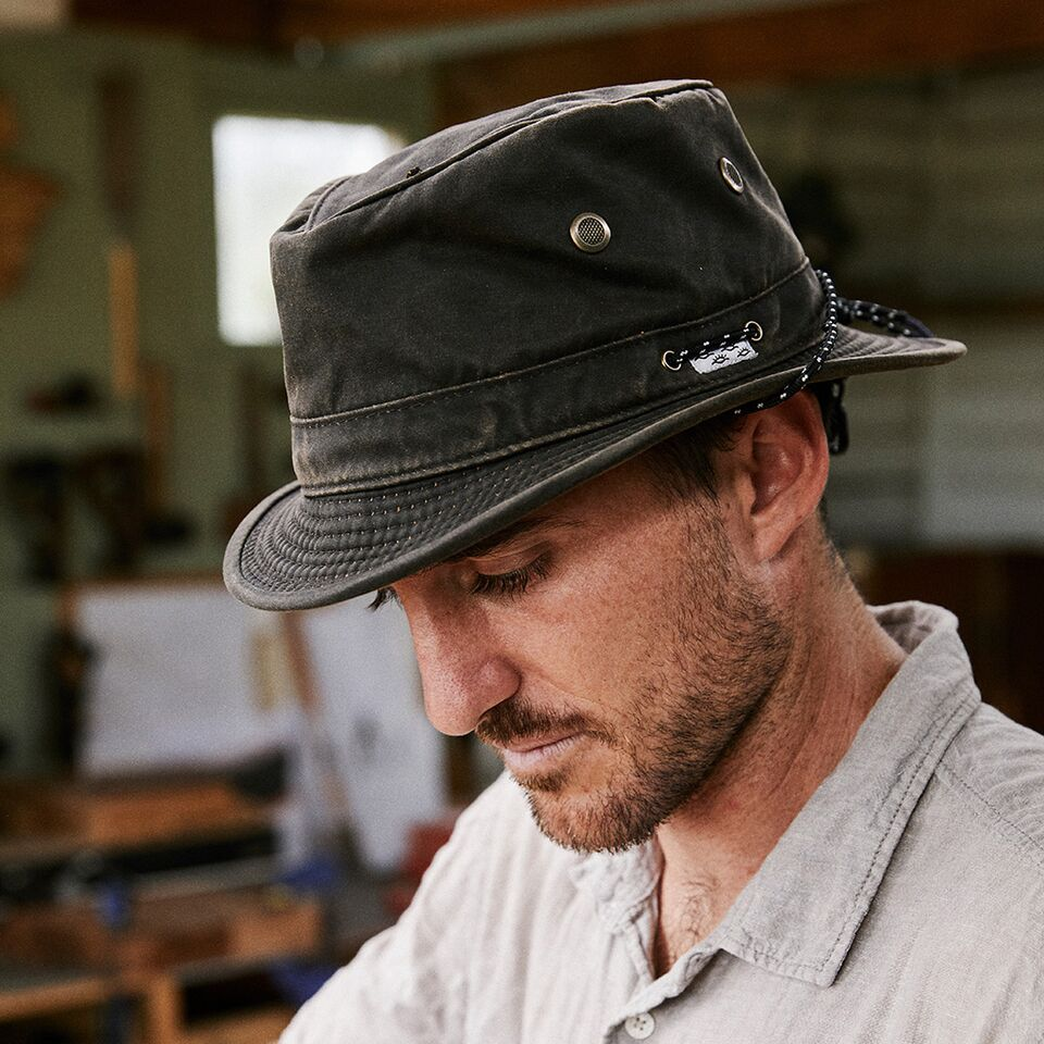 Conner Handmade Hats Jonathan Boater on Model Y1264