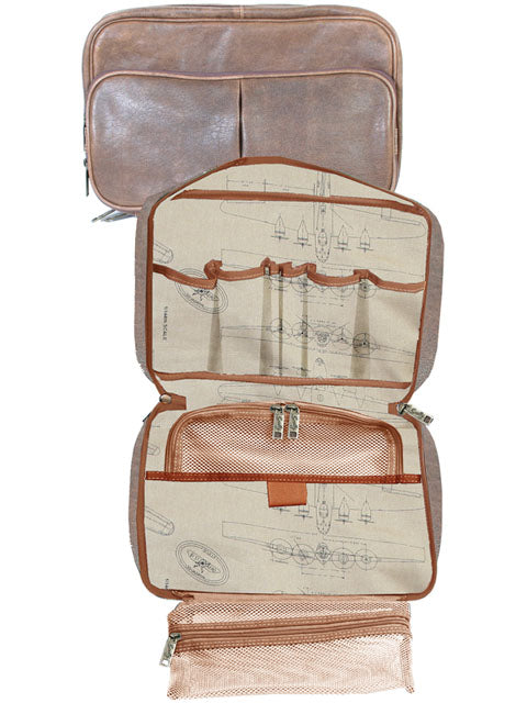 Scully 81st Aero Squadron Airborne Travel Kit Inside