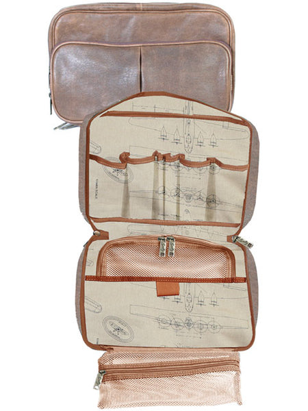 Scully 81st Aero Squadron Airborne Travel Kit Front