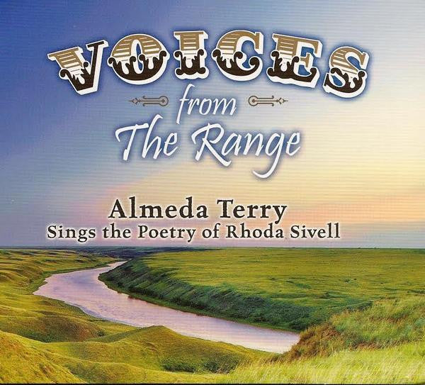 CD Cover Almeda Bradsahw: Voices From The Range