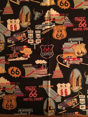 Rockmount Ranch Wear Bandana Route 66