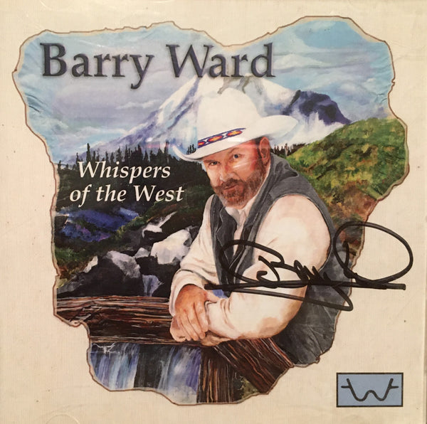 CD Whispers of the West by Barry Ward