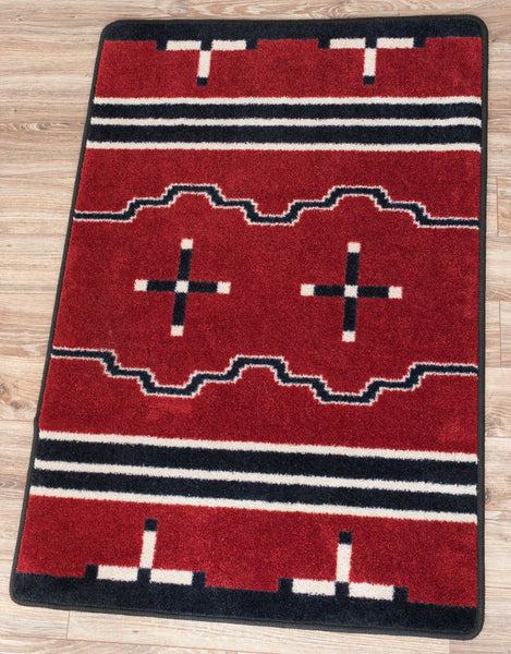 American Dakota Rug Big Chief Red