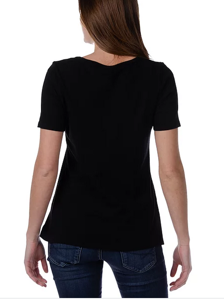 Liberty Wear Black Eyed Susan Top Front #117015