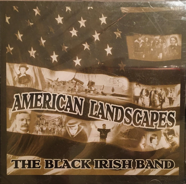 CD American Landscapes by The Black Irish Band
