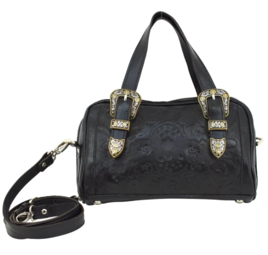 American West Heritage Hills Collection Satchel Black