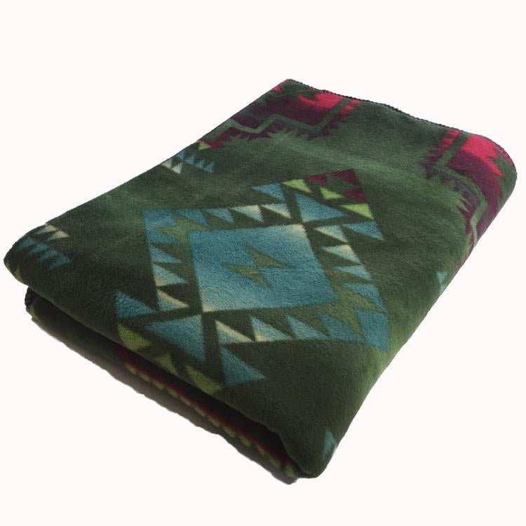 Rockmount Ranch Wear Blanket Green