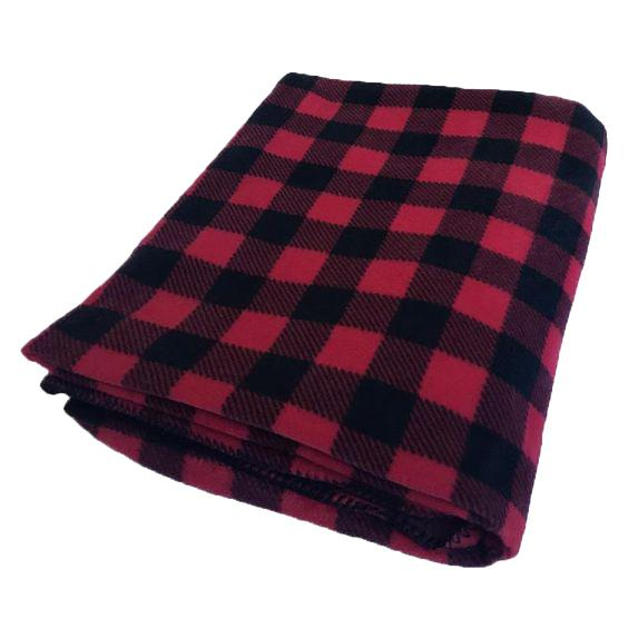 Rockmount Ranch Wear Western Blanket Red Check