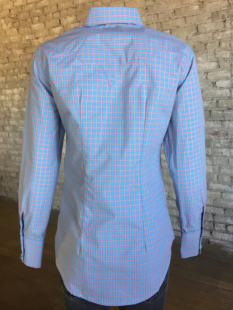 Rockmount Ranch Wear Ladies' Pastel Check Back #177934