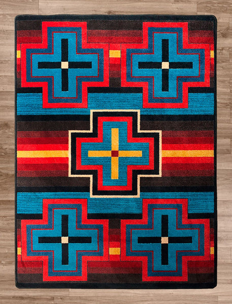 American Dakota Rug Bounty Bright Rectangle
