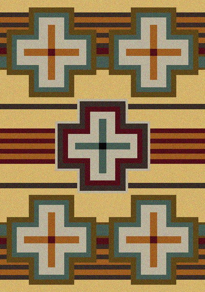 American Dakota Rug Bounty Maize Rectangle