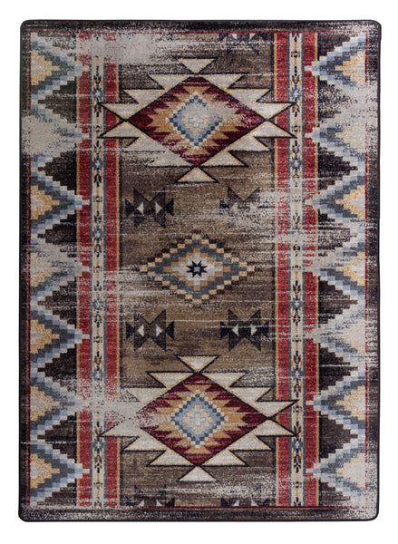 Americana Dakota Bow Strings Distressed Rug