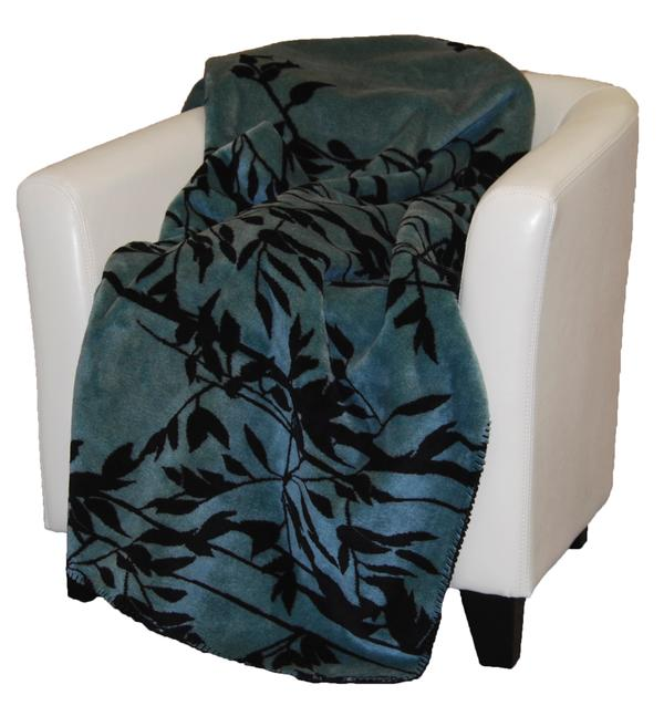 Denali Blankets Branches Against The Sky Throw Blanket on Chair