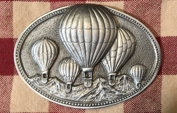 Trophy Buckle Hot Air Balloons