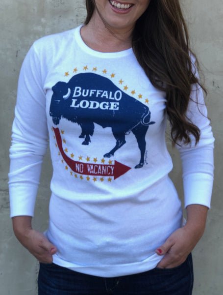 Original Cowgirl Clothing Thermal Buffalo Lodge Front