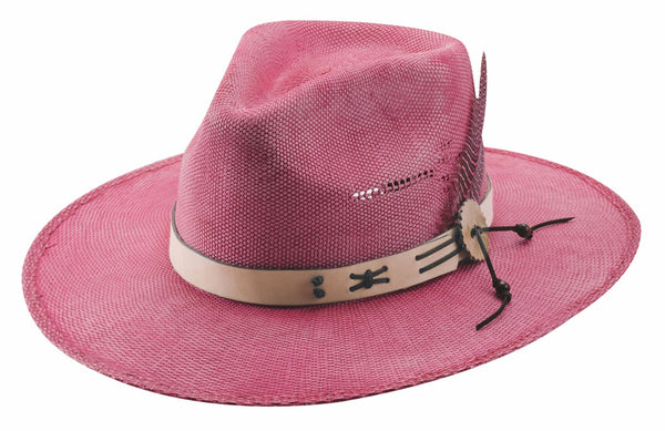 Bullhide Hats Chasing Summer Cherry Front #5005041A