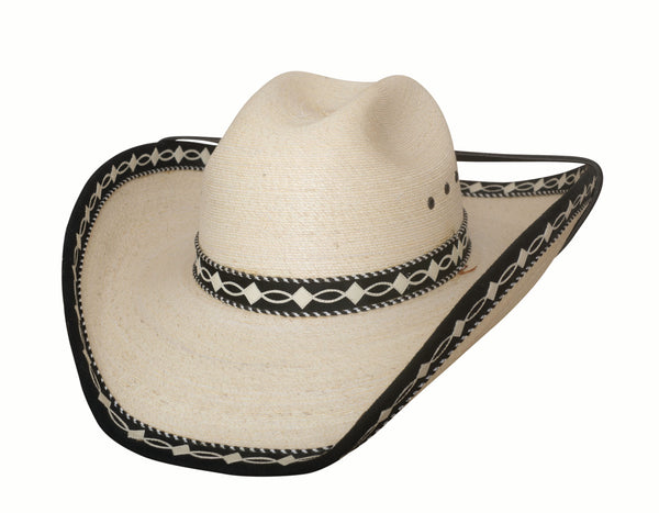Bullhide Hats Palm Leaf Custom Made #5002914